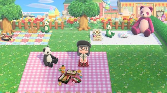 ピクニックができる公園