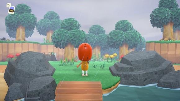 木だけの島