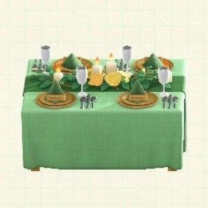 ウェディングなテーブルガーデン