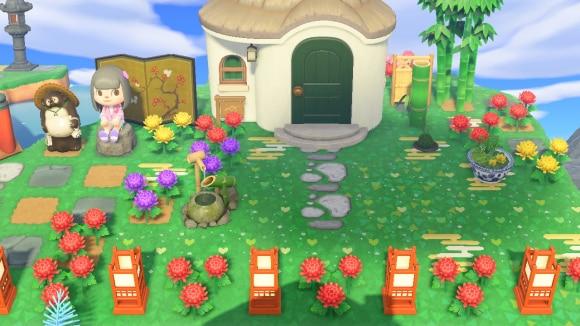 和風なお庭付きの家