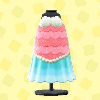 マーメイドなお魚ドレス