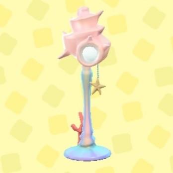 マーメイドなランプ