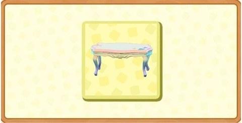 マーメイドなテーブルの入手方法と使い道