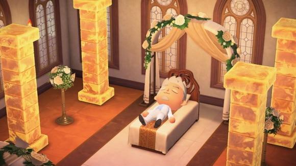 ゆめみのベッド神聖なゆめみの部屋