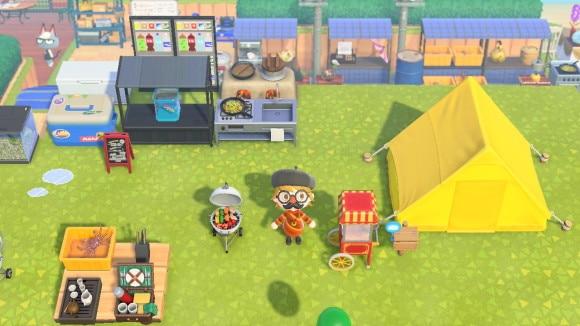 キャンプ場キッチン