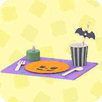 ハロウィンなテーブルセット