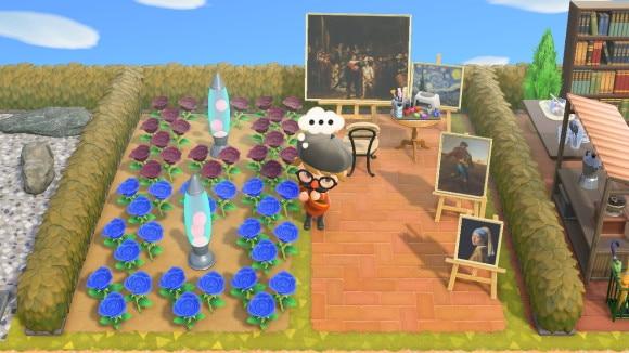 おしゃれな美術館風花畑