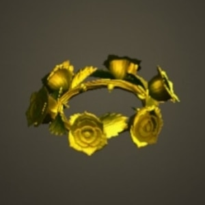 バラのかんむりかんむりゴールド
