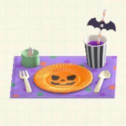 テーブルセッティングオレンジ