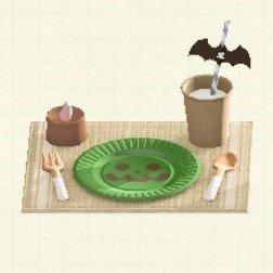 テーブルセッティンググリーン