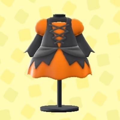 まほうつかいのドレスオレンジ