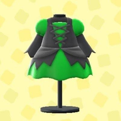 まほうつかいのドレスグリーン