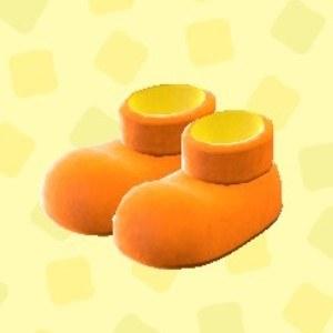 はでなアニマルきぐるみブーツオレンジ