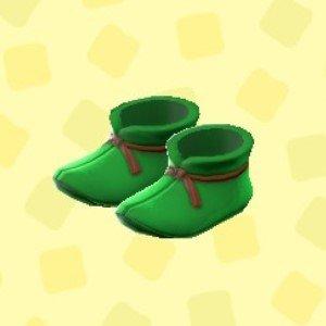 まほうつかいのブーツグリーン