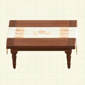 サンクスギビングなテーブルのカラバリ