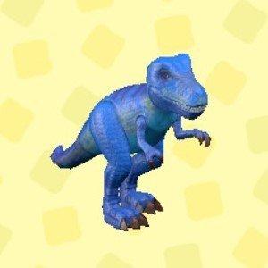 きょうりゅうのおもちゃブルー