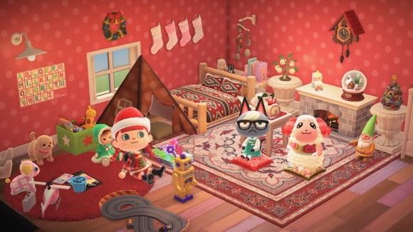 クリスマスな子供部屋
