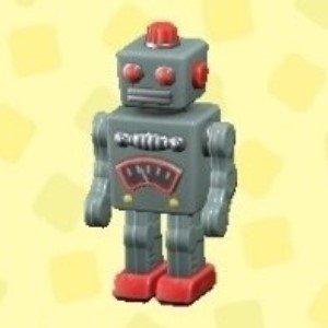 ブリキのロボットシルバー