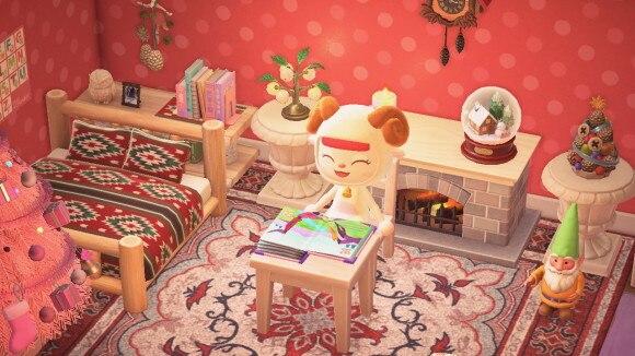 クリスマスな部屋