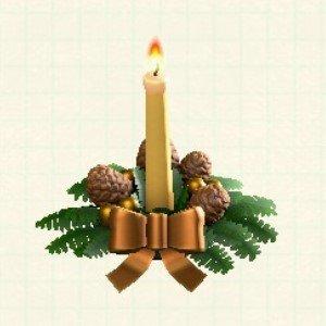 クリスマスキャンドルゴードル