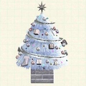 おおきなクリスマスツリーホワイト