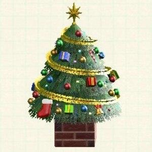 おおきなクリスマスツリーカラフル