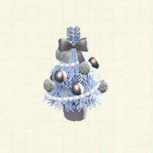 テーブルクリスマスツリーホワイト