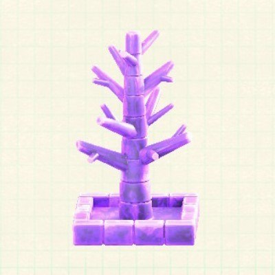 こおりのツリーアイスパープル