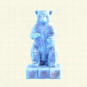 こおりのアートアイスブルー