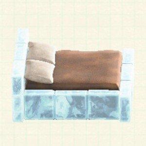 こおりのベッドアイス
