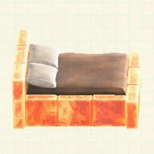 こおりのベッドアイスオレンジ