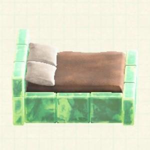 こおりのベッドアイスグリーン