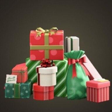 プレゼントのやま