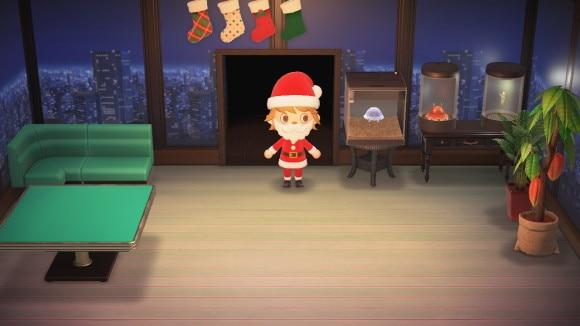 クリスマスなかべかけソックス