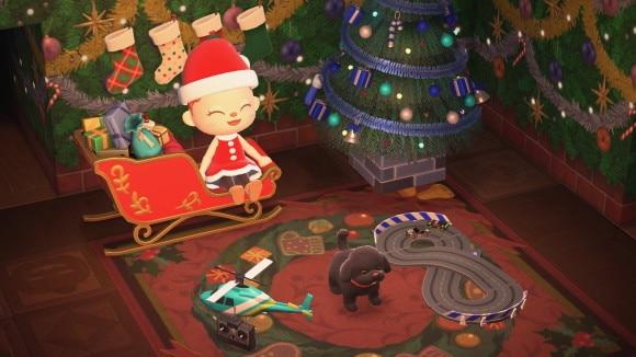クリスマスなそりレイアウト