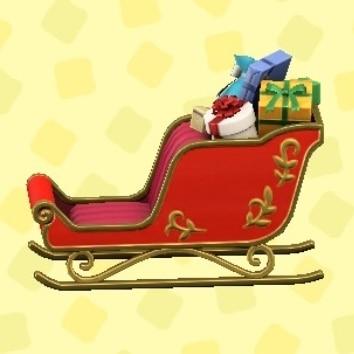 クリスマスなそり