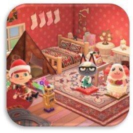 クリスマスのレイアウト