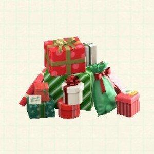 プレゼントのやまレッドグリーン