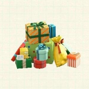 プレゼントのやまカラフル