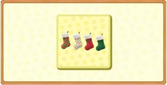 クリスマスなかべかけソックスバナー