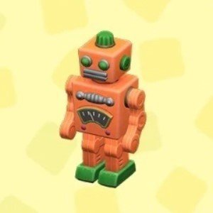 ブリキのロボットオレンジ