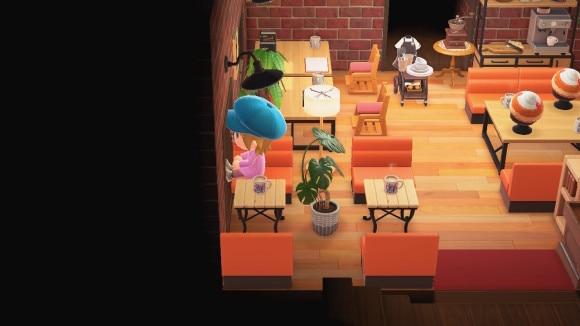 コメダ島 左の部屋