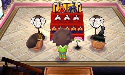 とび森のひな祭り家具
