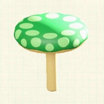 キノコちけいLグリーン