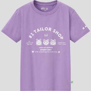 ユニクロ子ども向けTシャツ2