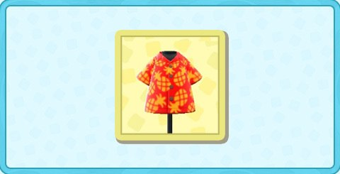 パインがらアロハシャツの値段と入手方法