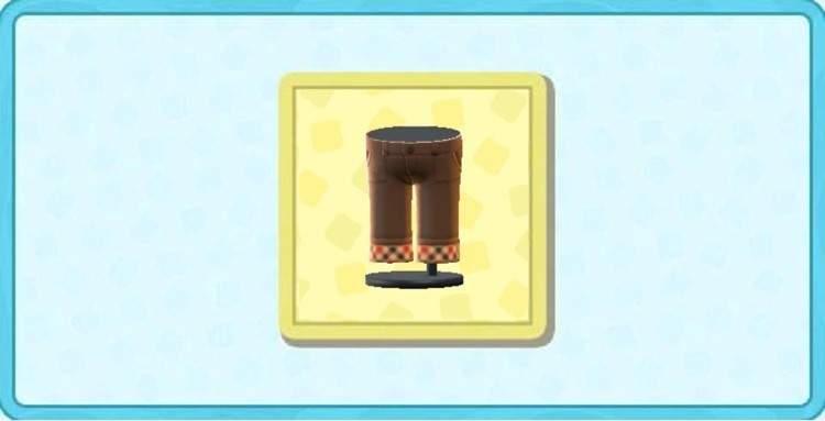 すそみせズボンの値段と入手方法