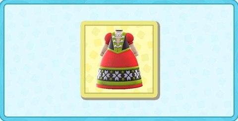 さむいくにのドレスの値段と入手方法