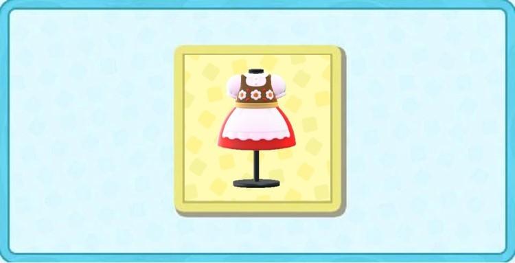 チロリアンなドレスの値段と入手方法