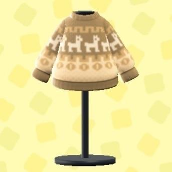 まふゆのセーター